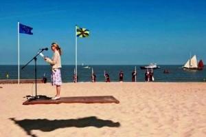 skraidancio kilimo iliuzija