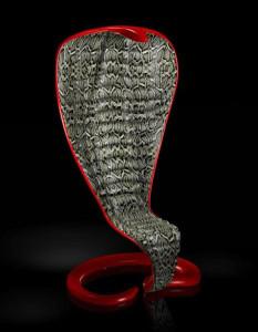 Anakonda fotelis